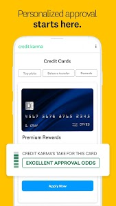 screenshot of Credit Karma - Free Credit Scores & Reports version Varies with device