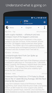 screenshot of Crypto App - Widgets, Alerts, News, Bitcoin Prices version 2.3.5
