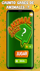 screenshot of Cuanto Sabes de Animales Quiz-Trivia version 0.2