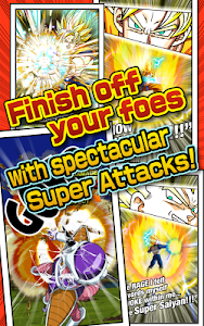 screenshot of DRAGON BALL Z DOKKAN BATTLE version 2.8.4