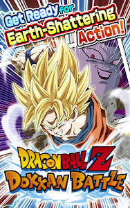 screenshot of DRAGON BALL Z DOKKAN BATTLE version 2.8.3