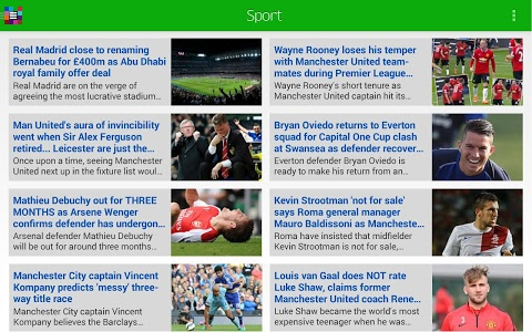 screenshot of Daily Mail Online version 4.0