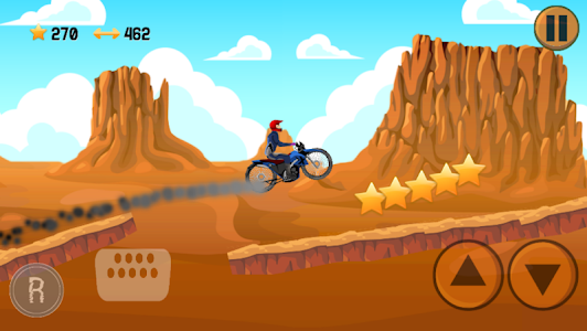 screenshot of Desert Motocross version 1.1