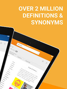 screenshot of Dictionary.com: Find Definitions for English Words version Varies with device