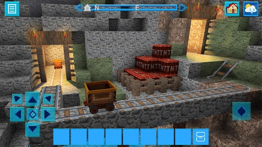screenshot of DinoCraft Survive & Craft Pocket Edition version 4.1.9