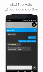 screenshot of DirectChat (ChatHeads for All) version 1.4.1
