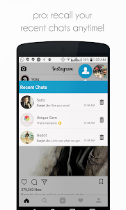 screenshot of DirectChat (ChatHeads for All) version 1.4.3
