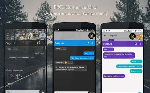 screenshot of DirectChat (ChatHeads for All) version 1.2