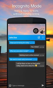 screenshot of DirectChat (ChatHeads for All) version 1.7.4
