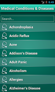 screenshot of Diseases Dictionary ✪ Medical version 2.1