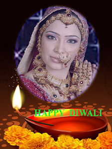 screenshot of Diwali Photo Frames version 4.0