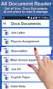screenshot of Documents reader:ebooks reader& pdf reader version 1.7