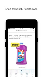 screenshot of Dollar General - Digital Coupons, Ads And More version Varies with device