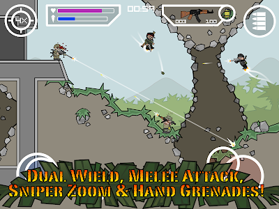 screenshot of Mini Militia - Doodle Army 2 version 4.3.3