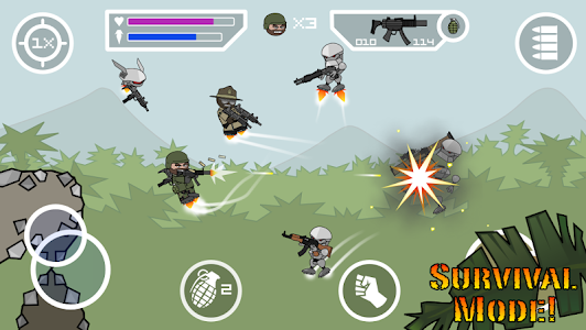screenshot of Doodle Army 2 : Mini Militia version 2.0.4