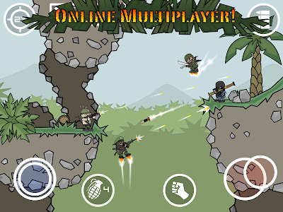 screenshot of Mini Militia - Doodle Army 2 version 4.2.8