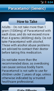 screenshot of Drugs Dictionary Offline: FREE version 2.0