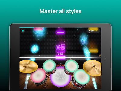 screenshot of Drums: real drum set music games to play and learn version 2.15.02