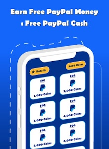screenshot of Earn Free Paypal Money : Free PayPal Cash version 1.03