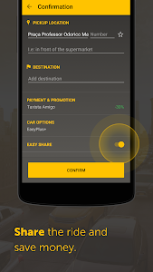screenshot of Easy - taxi, car, ridesharing version Varies with device