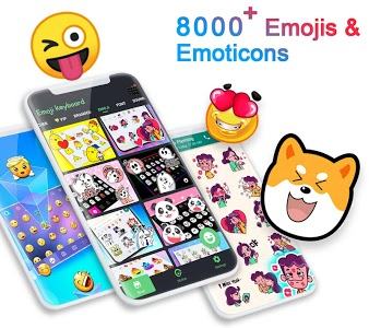 screenshot of ❤️Emoji keyboard - Cute Emoticons, GIF, Stickers version 3.4.1788