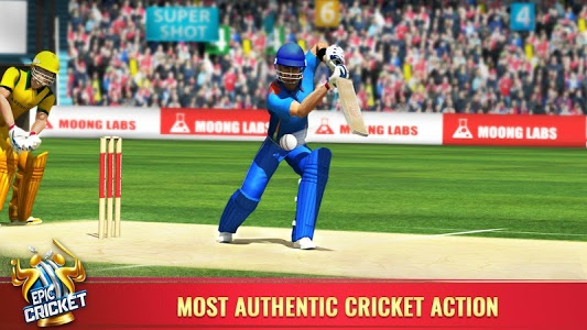 screenshot of Epic Cricket - Best Cricket Simulator 3D Game version 2.51