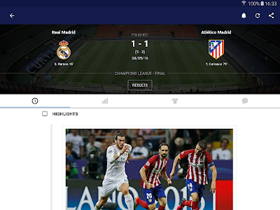 screenshot of Eurosport version 5.5
