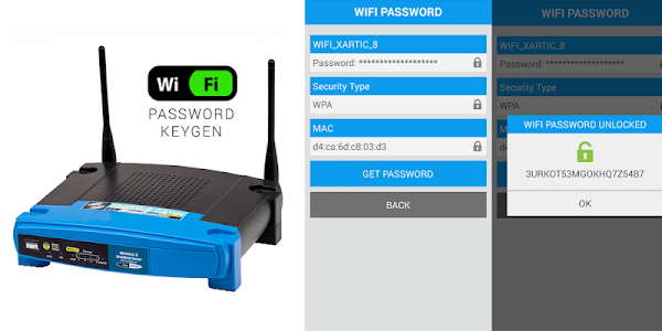 screenshot of FREE WIFI PASSWORD KEYGEN version 21.0