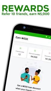 screenshot of FairMoney: Instant loan app, bill payment and more version 7.58