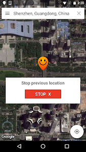 screenshot of Fake GPS Location - Hola version 1.123.456