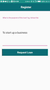 screenshot of Fast Loans 24/7 version 1.7.0