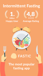 screenshot of Fastic Fasting App & Intermittent Fasting Tracker version 1.11.1