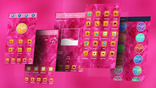 screenshot of Feather Theme Launcher version 1.0