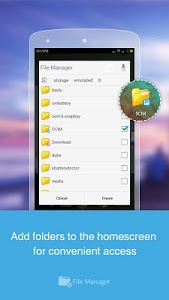 screenshot of File Manager (File transfer) version Varies with device