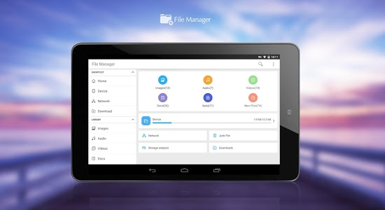 screenshot of File Manager (File transfer) version 2.4.3