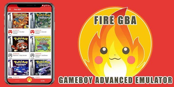 screenshot of Fire GBA Emulator version 1.2.5