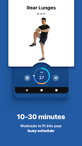 screenshot of Fitify: Workout Routines & Training Plans version 1.8.5