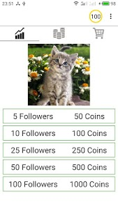 screenshot of Followers And You version 1.0.0