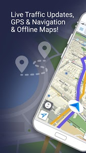 screenshot of Traffic Updates: GPS & Navigation version 1.33