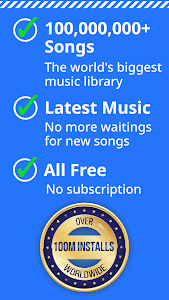 screenshot of Free Music Unlimited MP3 Player Download Free version 10.11