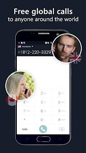 screenshot of 2nd phone number - free private call and texting version 1.5.5