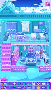 screenshot of Frozen Dollhouse Design,Ice Dollhouse for girls version 1.0.5