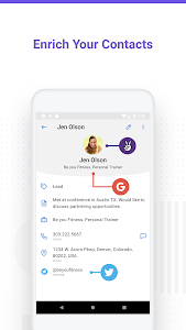 screenshot of Contacts+ Pro version 19.05.3