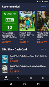 screenshot of G2A.COM – Play more. Pay less. version 2.2.0