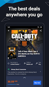 screenshot of G2A - Games, Gift Cards & More version 2.4.6