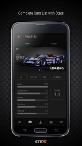 screenshot of GTS Companion - Daily Races and SR/DR Stats version Varies with device