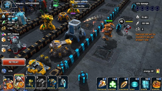 screenshot of Galaxy Control: 3D strategy version 9.7.90