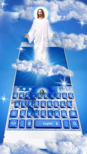 screenshot of God christ keyboard version 10001010
