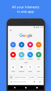 screenshot of Google Go: A lighter, faster way to search version Varies with device