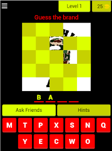 screenshot of Guess the Outfit brand version 4.2.0z